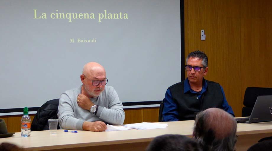El Grup de Lectura de Sueca es reuneix divendres amb l'escriptor Salvador Vendrell