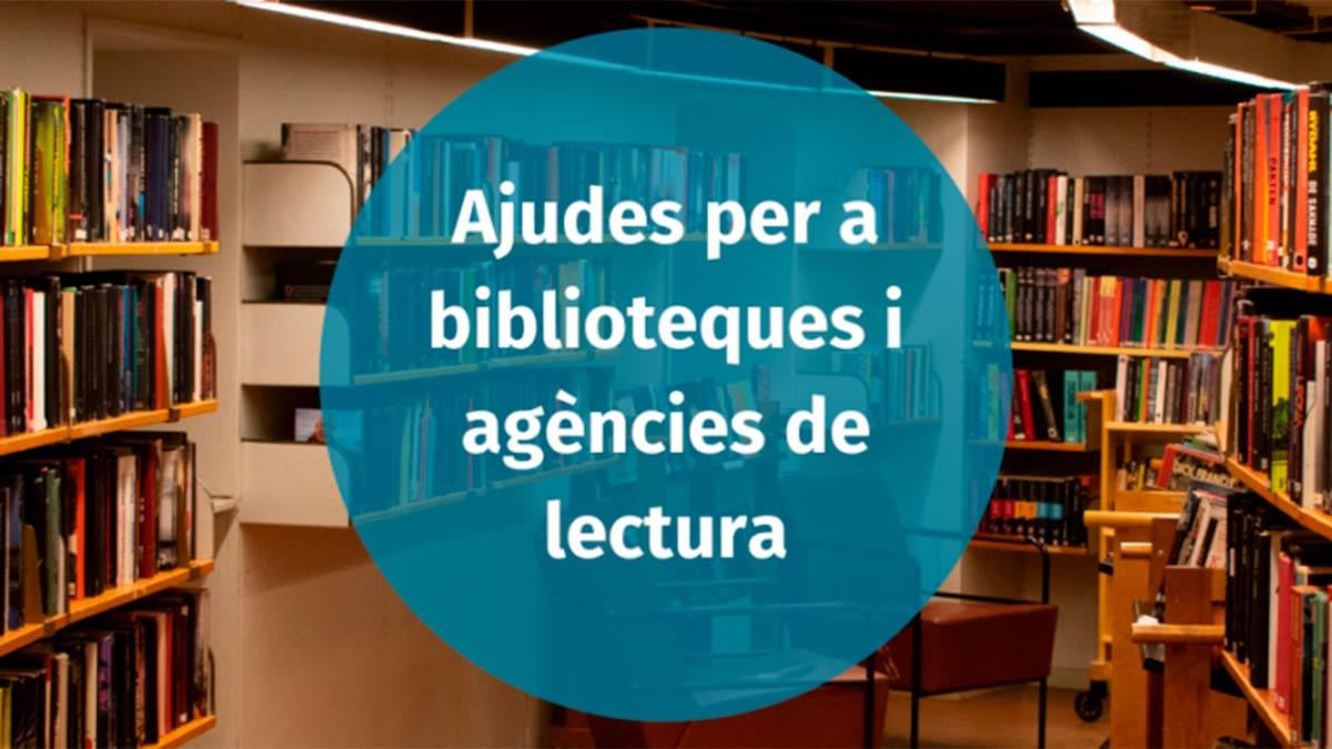 Convocades les ajudes per a l'adquisició de fons bibliogràfic