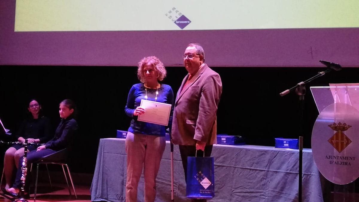 Maria Vàzquez guanya el Premi Llegir 2019