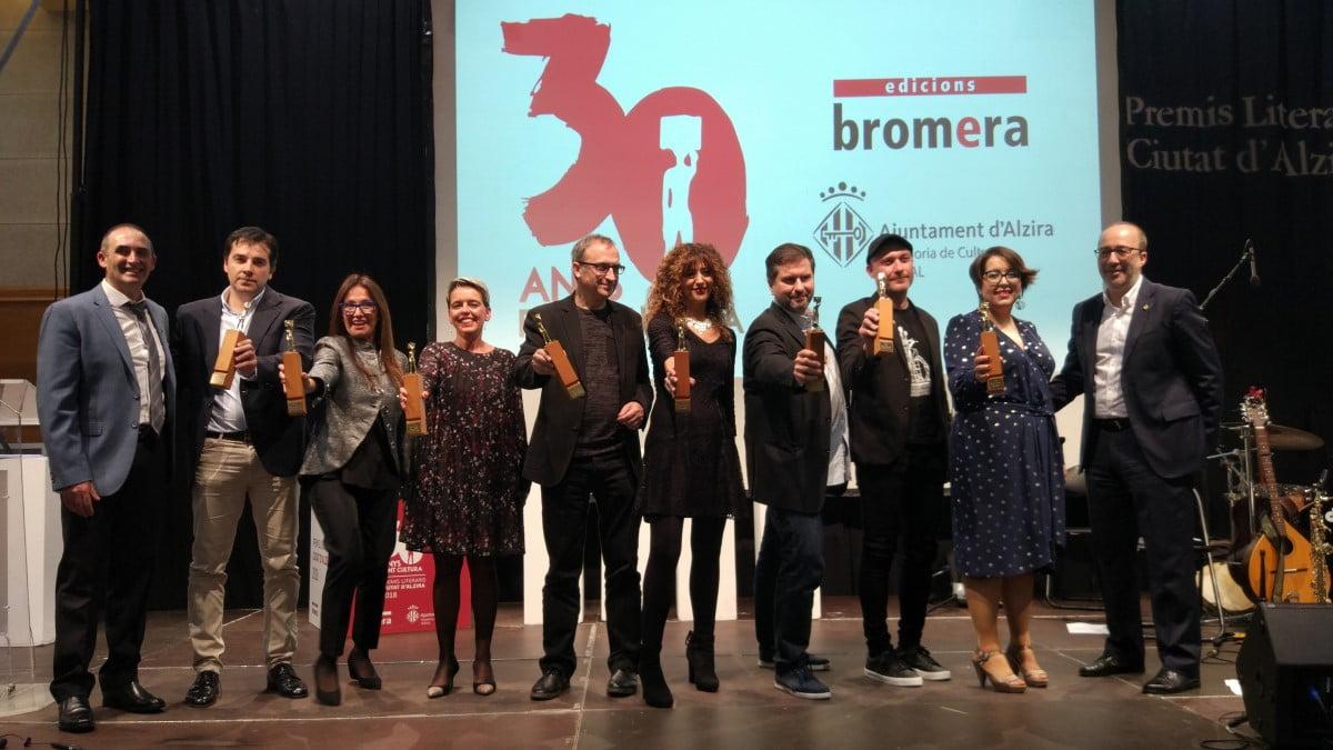 Els Premis Literaris Ciutat d'Alzira es lliuren el divendres 8 de novembre