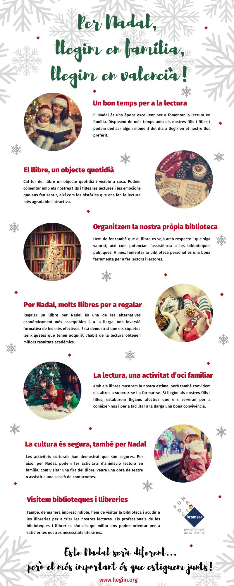 Per Nadal, llegim en família! |