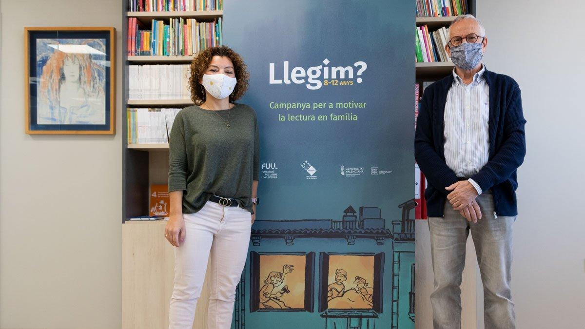 Més de 100.000 famílies de xiquets i xiquetes d'entre 10 i 12 anys rebran la revista 'Llegim?' a través dels centres educatius valencians