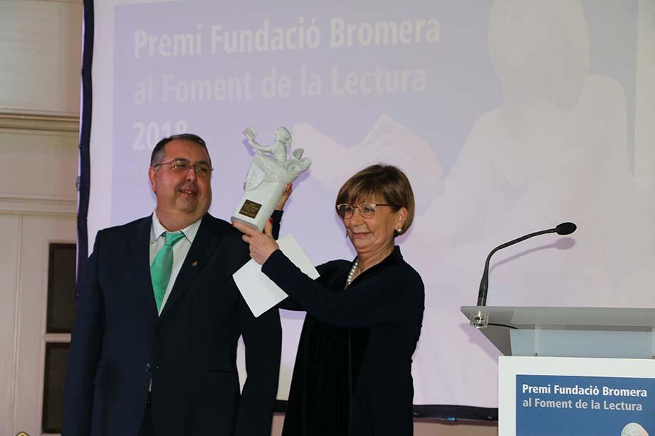 La Fundació Bromera ret homenatge a Carme Miquel i al festival Poefesta en els Premis al Foment de la Lectura