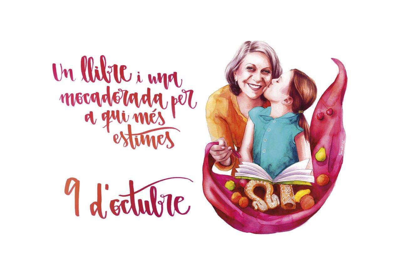 La Fundació Bromera impulsa la campanya «Un llibre i una mocadorada per a qui més estimes» amb motiu del 9 d'Octubre