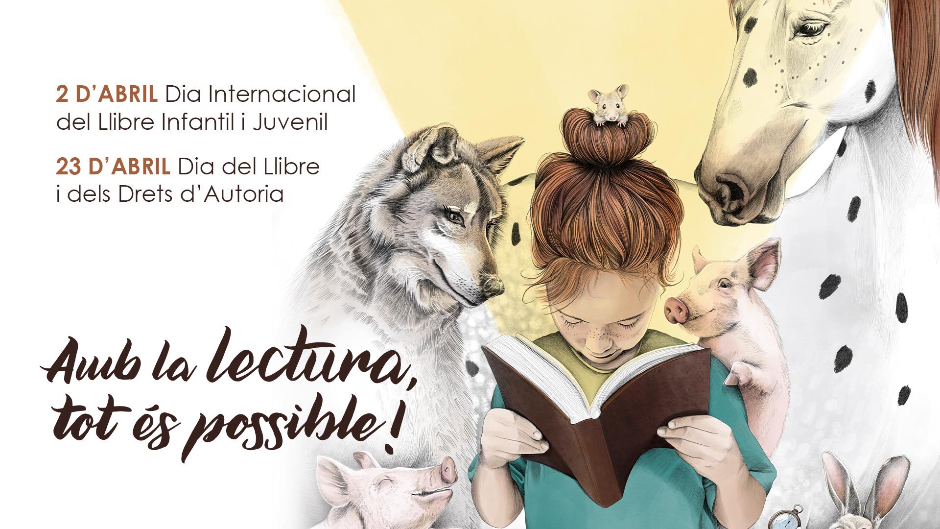 La Fundació Bromera regala més de 8.000 cartells per a commemorar el Dia del Llibre