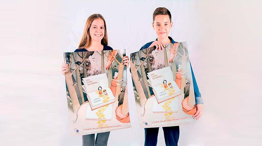 La Fundació Bromera distribueix més de 8.000 cartells per a celebrar el Dia del Llibre